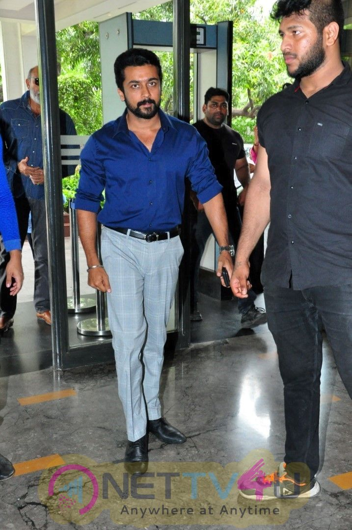 Chinna Babu Telugu Movie Press Meet Images At Green Park Hotel In Vizag