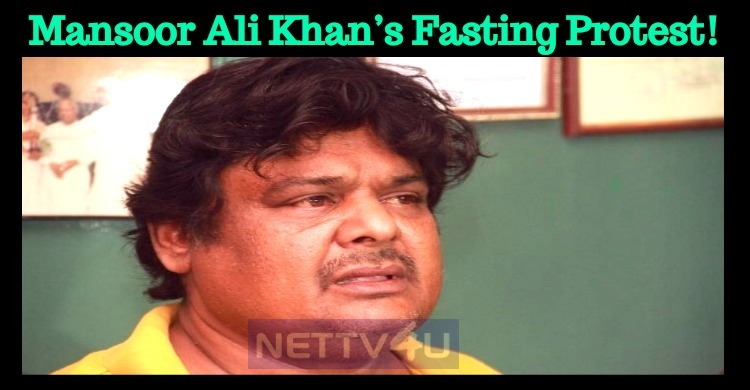 Mansoor Ali Khan's Fasting Protest!