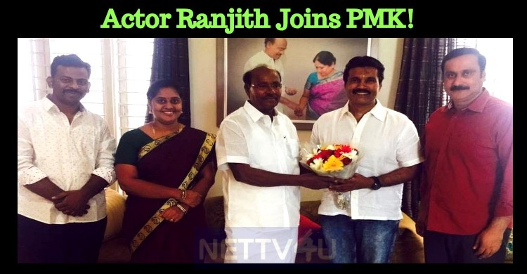 Actor Ranjith Joins PMK!