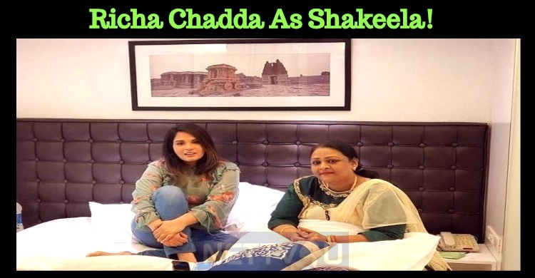 Richa Chadda As Shakeela!