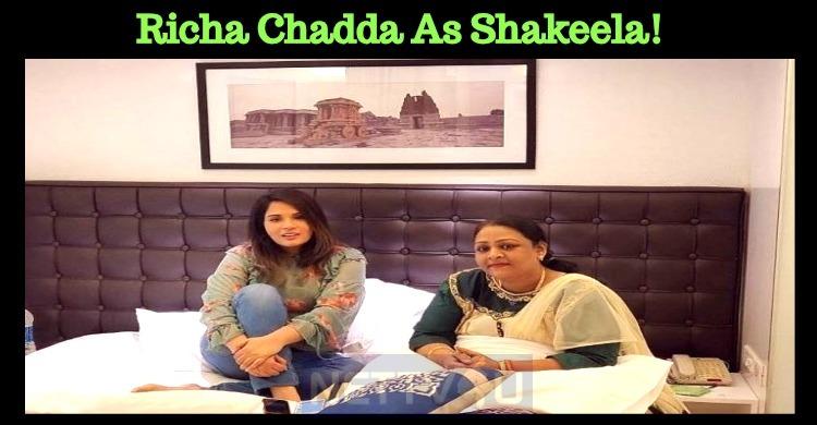 Richa Chadda As Shakeela!