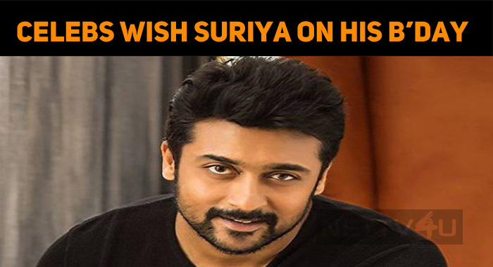 Celebs Wish Suriya, A Happy Birthday!