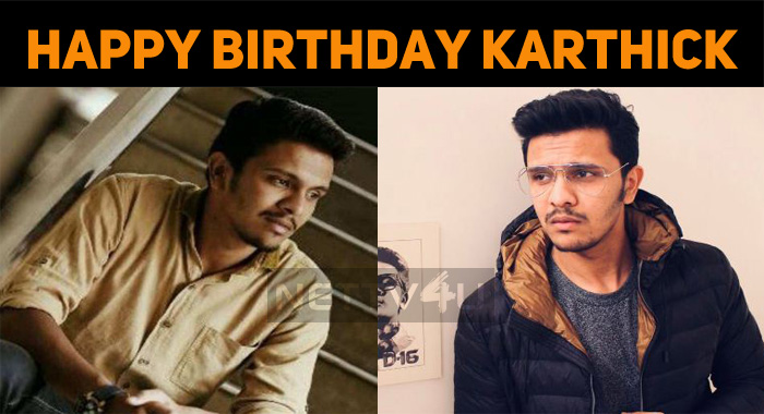 Happy Birthday, Karthick Naren!