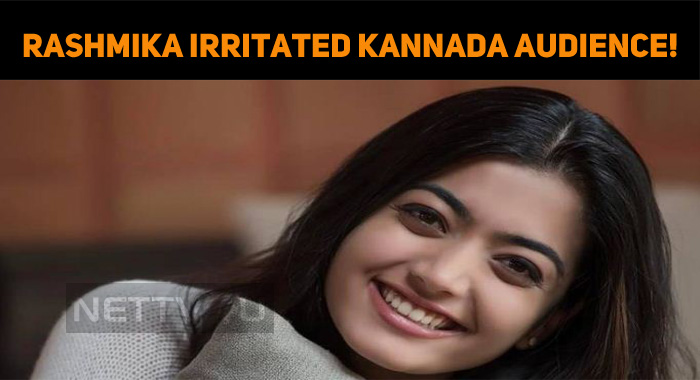Rashmika Irritated Kannada Audience!