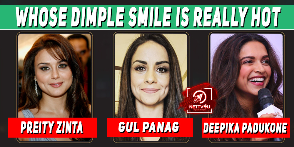 Whose Dimple Smile Is Really Hot ?