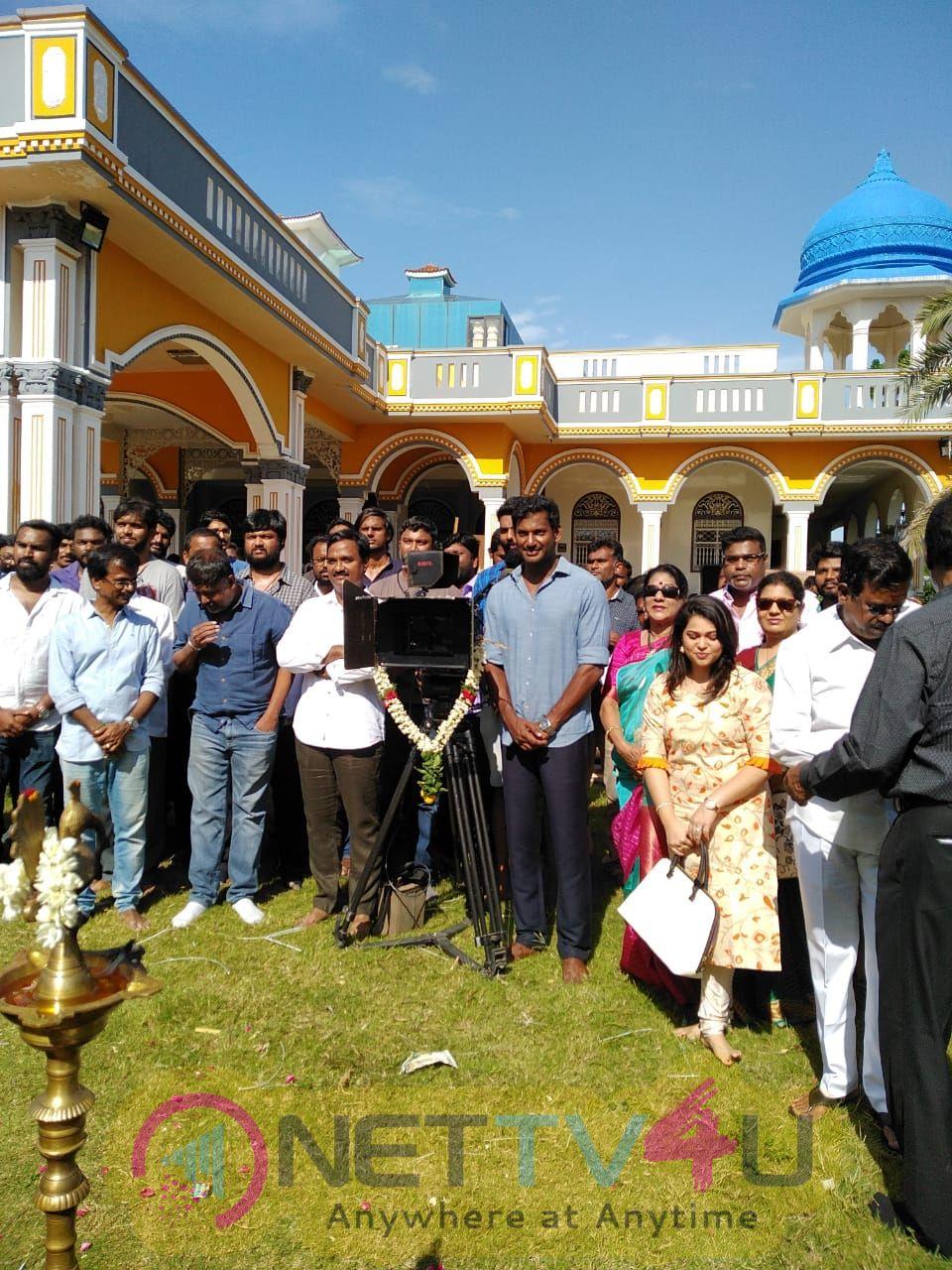 Ayogya Movie Pooja Pics