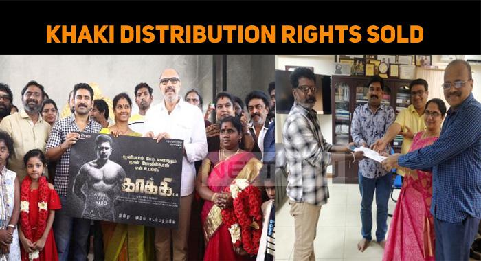 Vijay Antony's Khaki Distribution Rights Sold O..