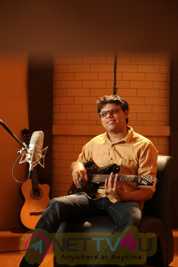 Music Director C.Sathya Attractive Stills Tamil Gallery