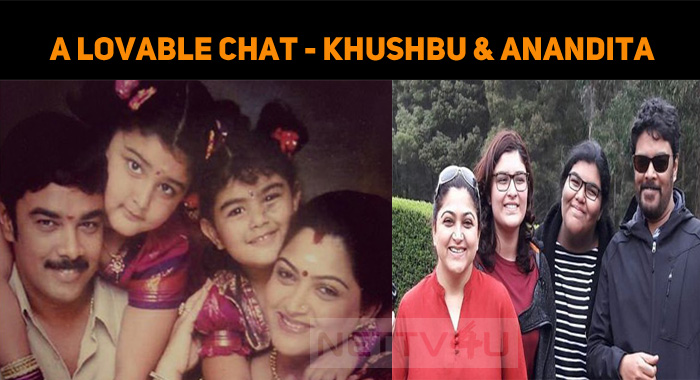 A Lovable Chat Between Mom And Daughter – Khush..