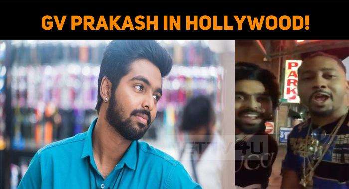GV Prakash Joins A Hollywood Movie!