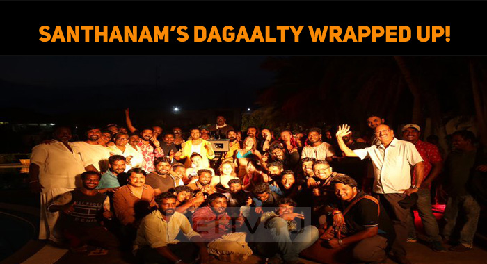 Santhanam's Dagaalty Wrapped Up!