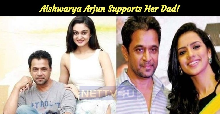 Arjun – Sruthi MeToo Issue To Be Dealt By KFCC! Aishwarya Supports Her Dad!