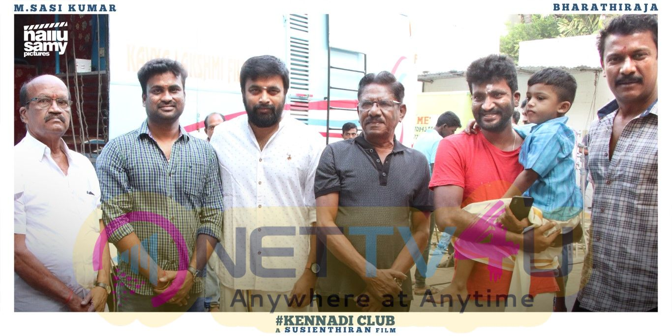 Kennedy Club Movie Pooja Pics