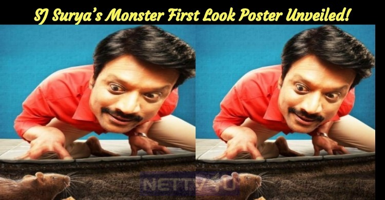 SJ Surya's Monster First Look Poster Unveiled!