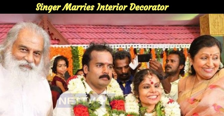 Vaikom Vijayalakshmi Tied The Knot With Interior Decorator Anoop!