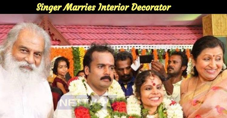 Vaikom Vijayalakshmi Tied The Knot With Interio..