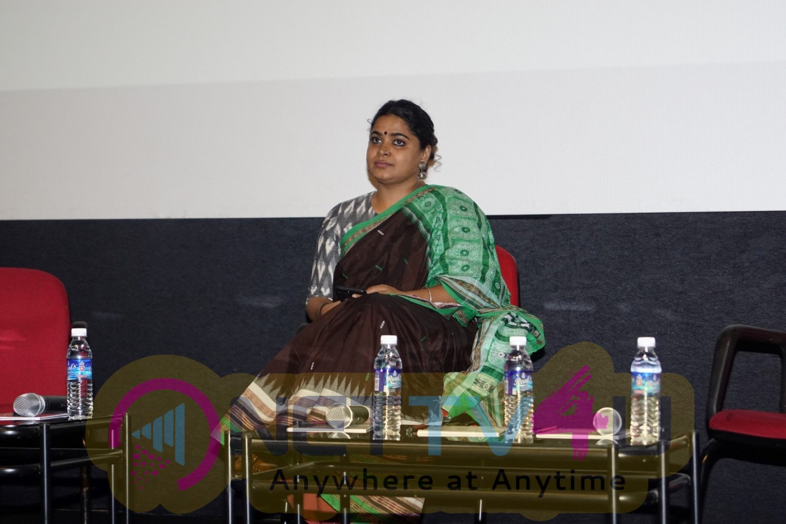 Ashwiny Iyer Tiwari At Young Filmmakers Of India Panel Discussion Pics