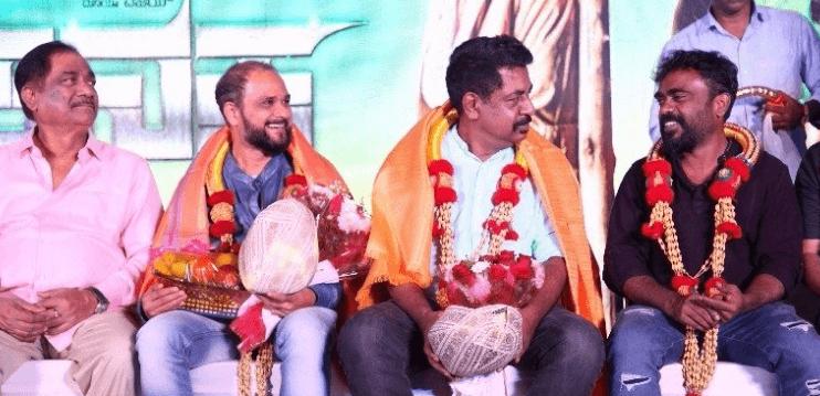 Chandru Honors The Lead Trio In The Kannada Cin..