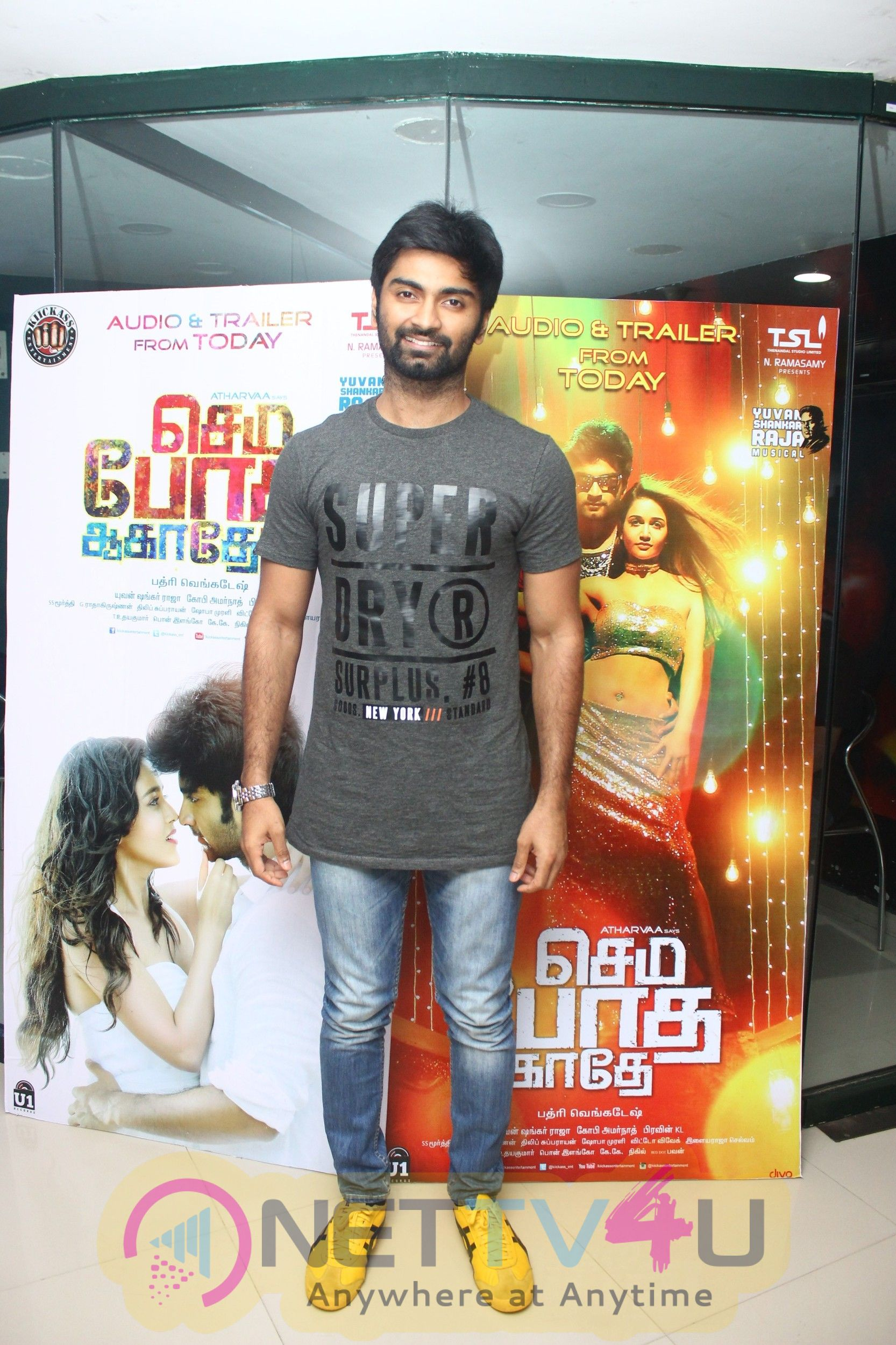 Semma Botha Aagathey Audio Launch At Radio Mirchi Photos