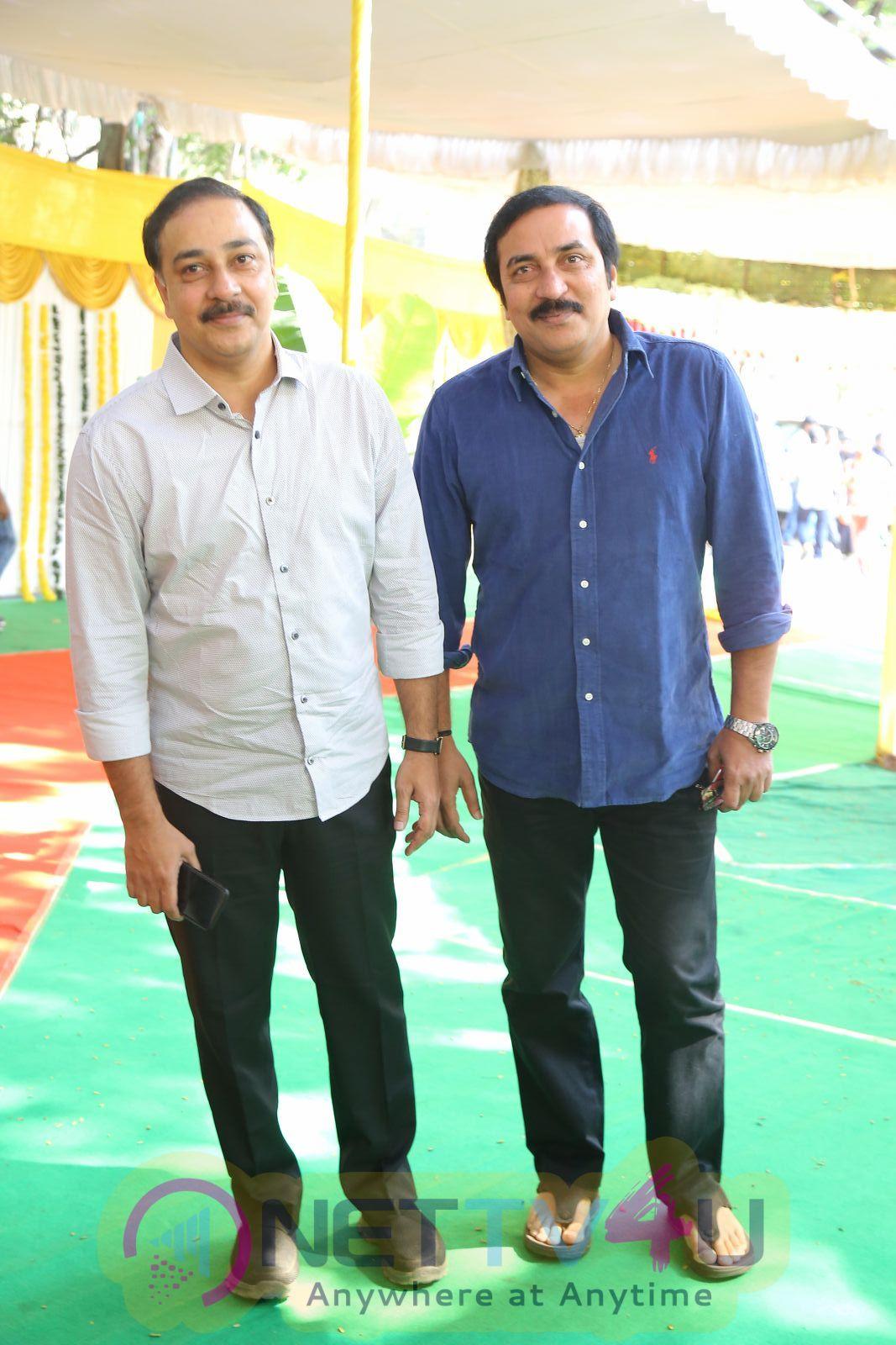 Sharwanand & Hanu Raghavapudi Movie Opening Photos