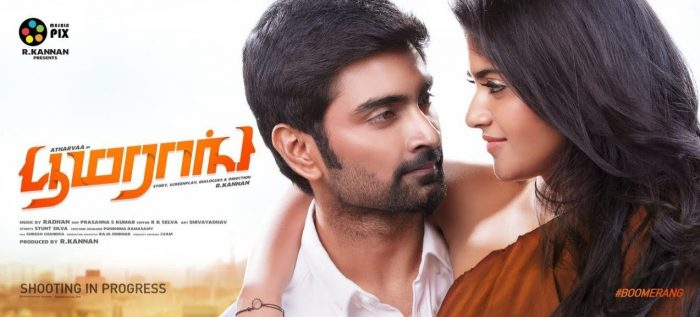 Atharvaa's Boomerang Release Date Here!