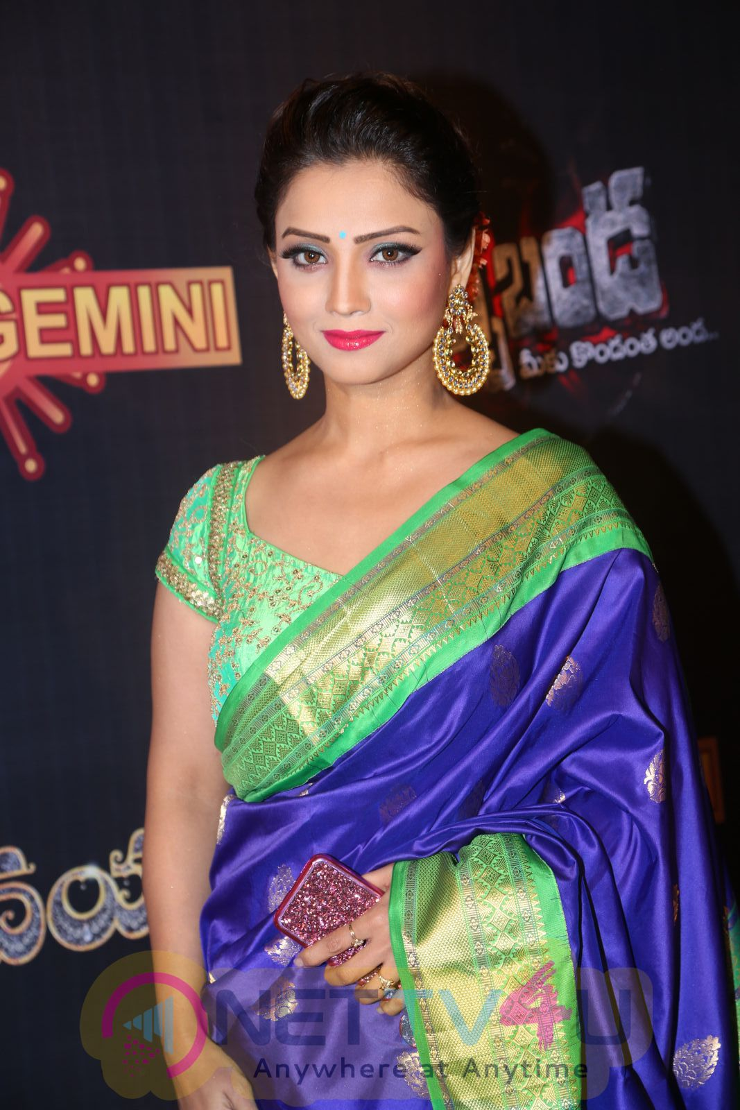 Actress Adaa Khan Attractive Photos At Gemini TV Puraskaralu 2016