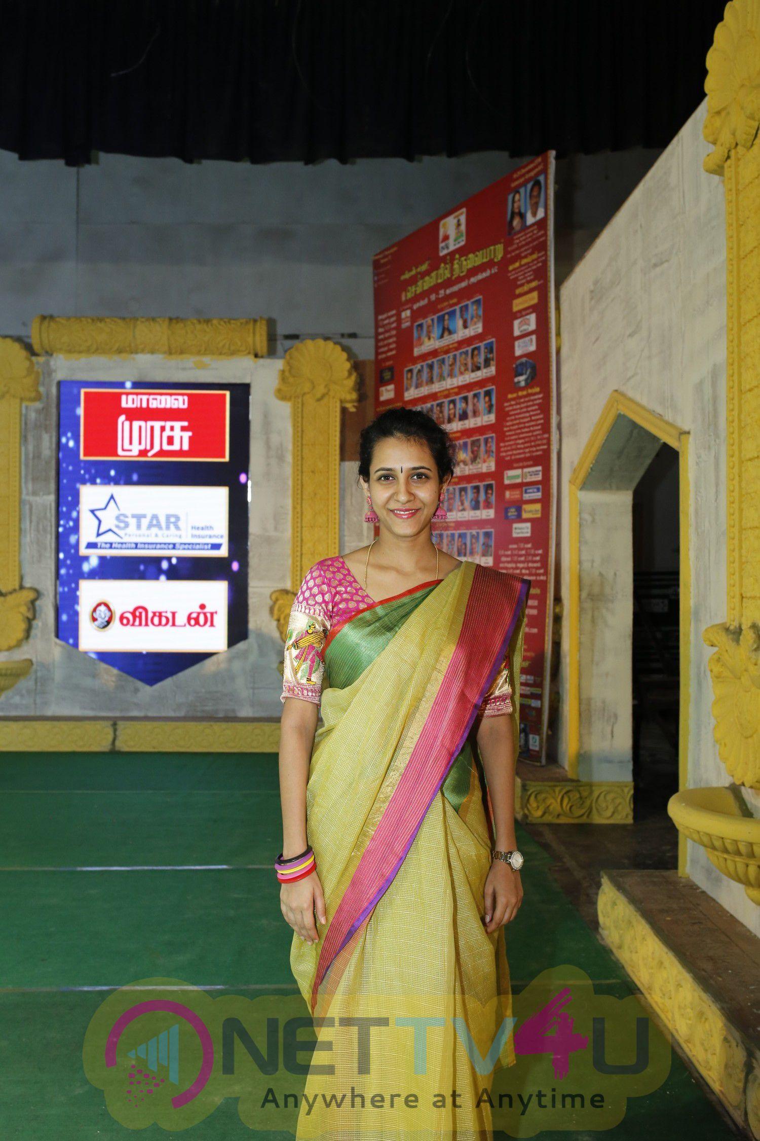 Chennaiyil Thiruvaiyaru Season 12 Press Meet Stills Tamil Gallery