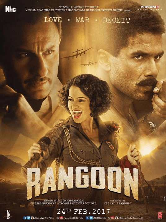 Rangoon Movie Review Hindi Movie Review