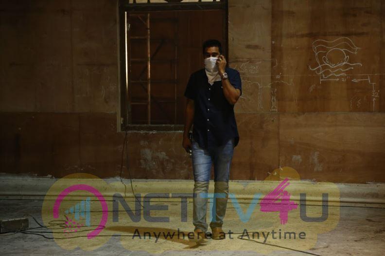 Bhaagamathie Movie Working Stills Telugu Gallery