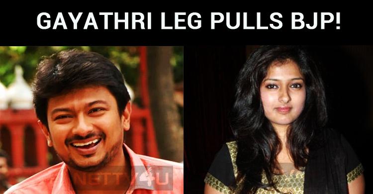 Bigg Boss Gayathri Leg Pulls BJP! Supports DMK!