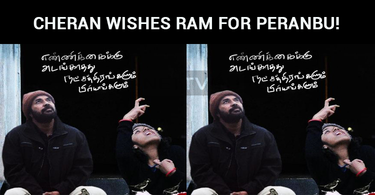 Cheran Wishes Ram For Peranbu!