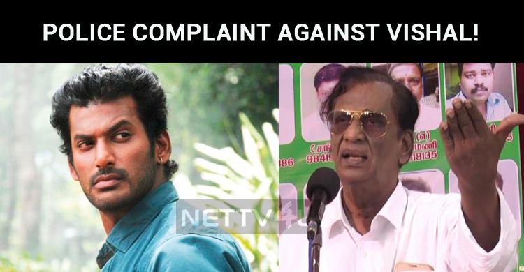 Police Complaint Against Vishal!