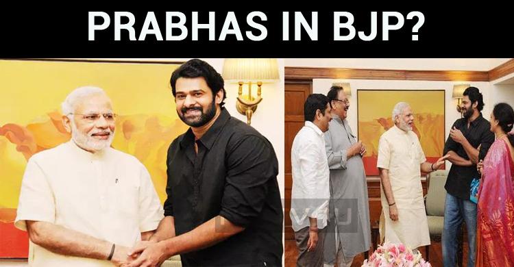 Prabhas In BJP?