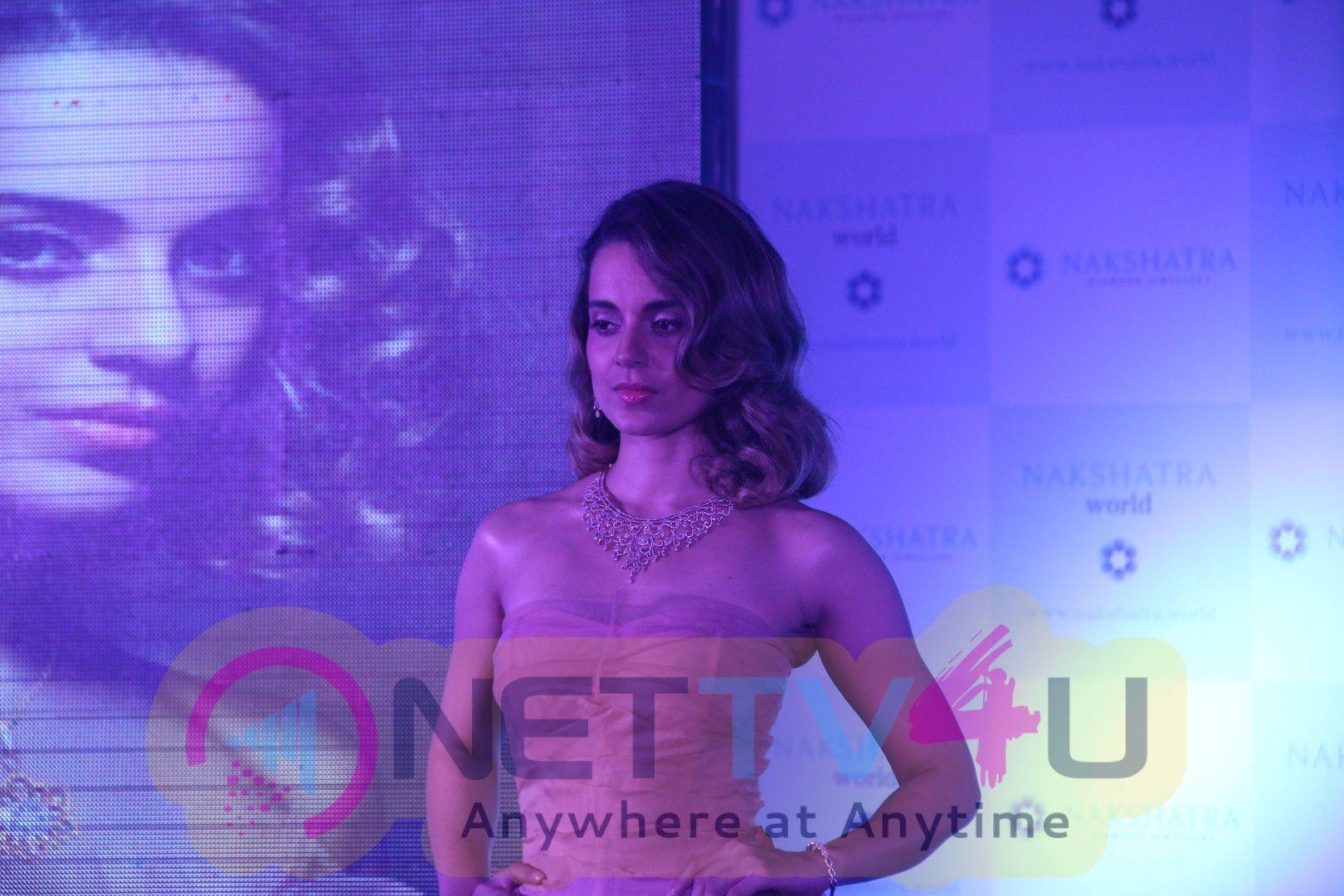 Photo Of Kangana Ranaut At Nakshatra Jewellery Launch Of A New Adv Campaign