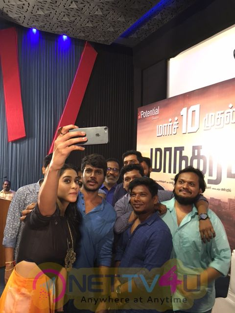Press Meet Photos Of Maanagaram Movie