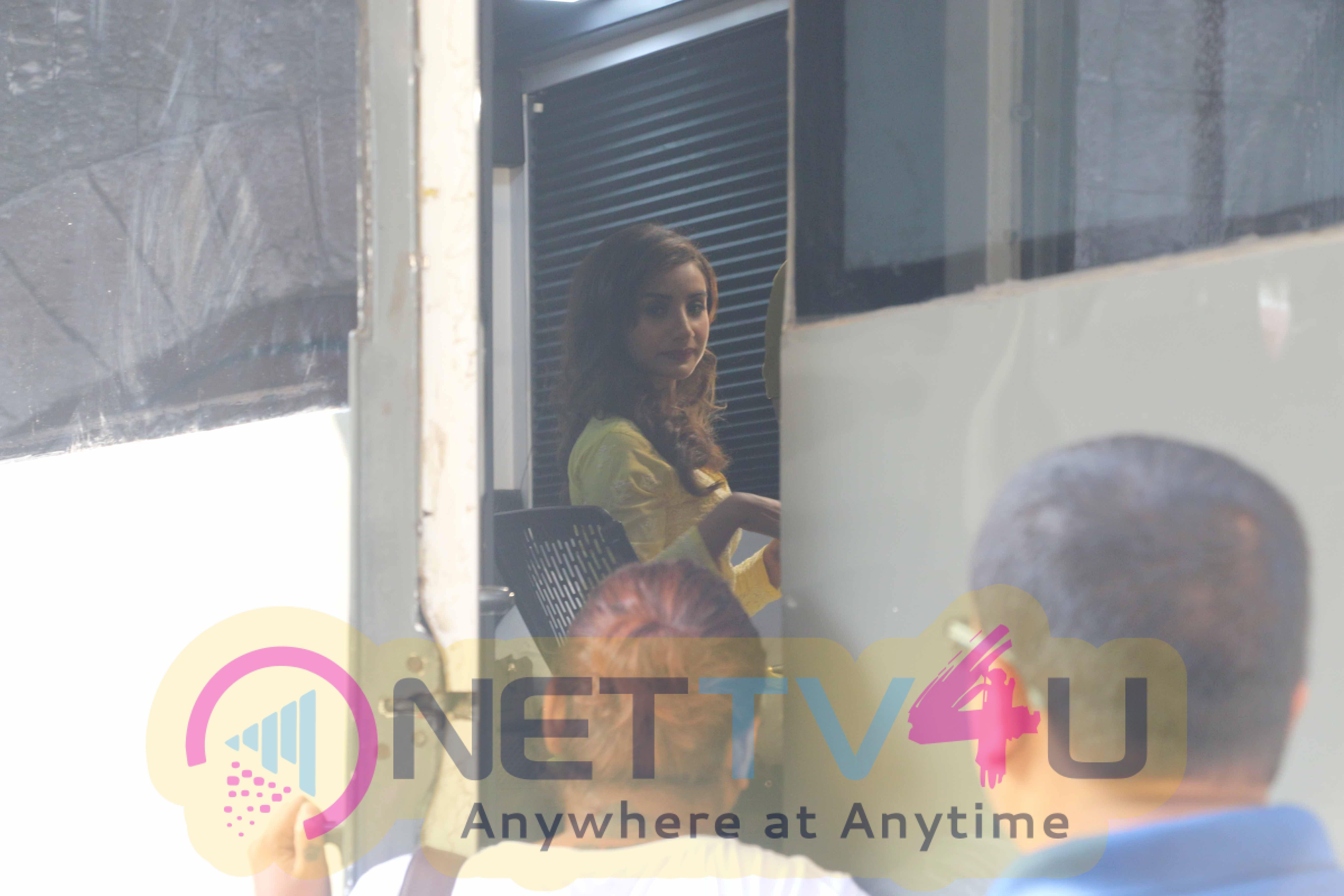 Abhay Deol & Patralekha At Poster Shoot Of Film Nanu Ki Janu Images