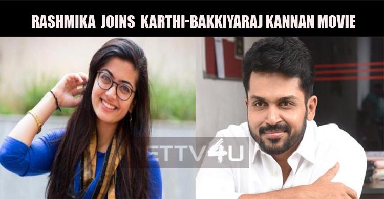 Rashmika Mandanna Confirms Her Tamil Debut!