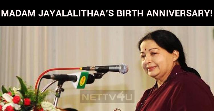 The TN Government Celebrates Madam Jayalalithaa's Birth Anniversary!