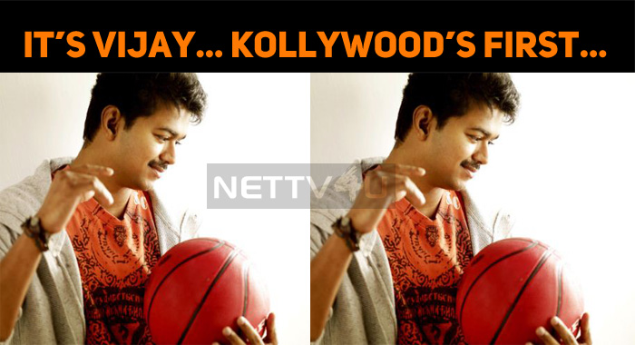 First Ever In Tamil Cinema – Thalapathy Vijay's Record