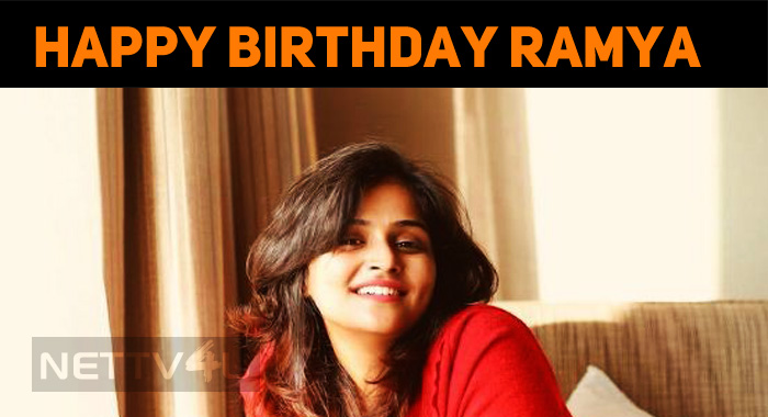 Remya Celebrates Her Birthday Today! Happy Birt..