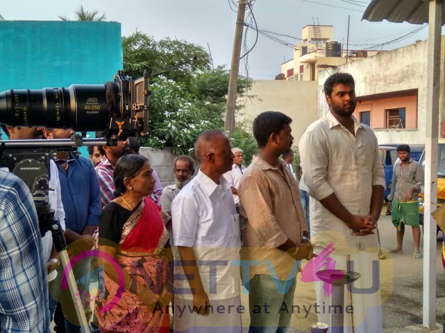 Madura Veeran Movie Pooja Stills