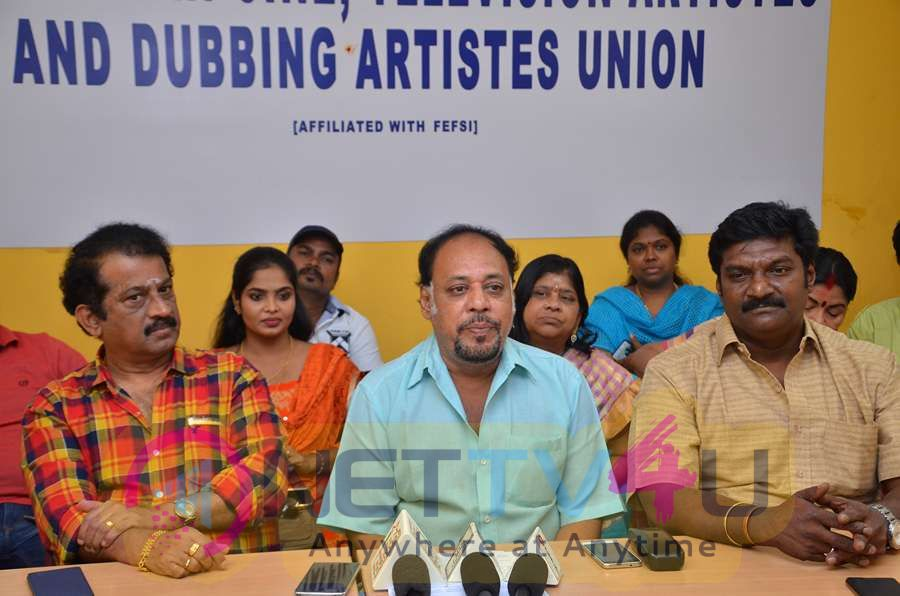 South Indian Cine Television Artistes And Bubbing Artistes Union Meet