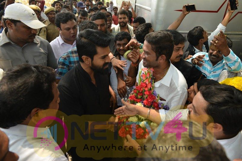 Ram Charan New Movie Shooting Pics