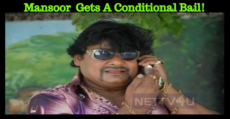 Mansoor Ali Khan Gets A Conditional Bail!