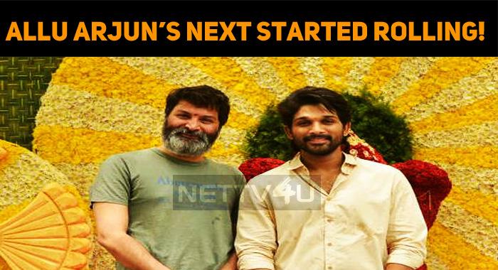 Allu Arjun's Next Started Rolling!