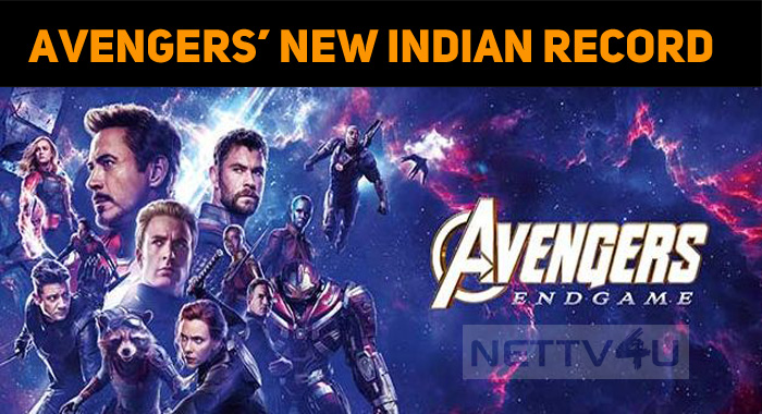Avengers Endgame Creates A Record In India!