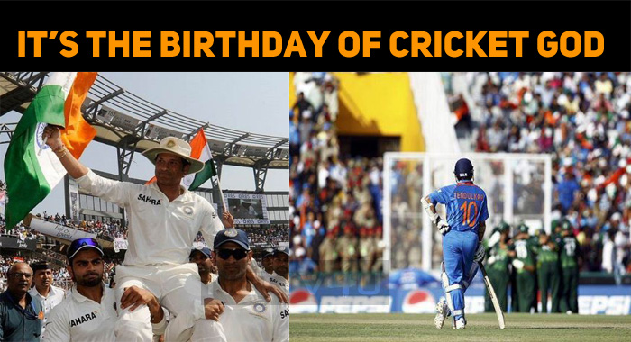 Sachin Celebrates His Birthday Today!