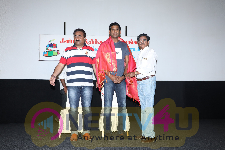 Association Of Cinema Journalists Identity Card Hosting Event Stills