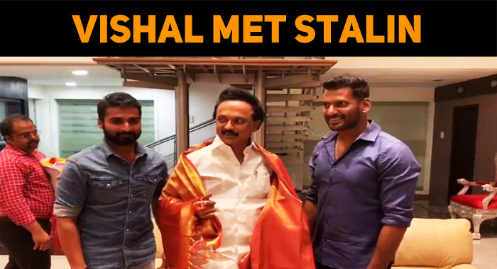 Breaking: Vishal Meets Stalin