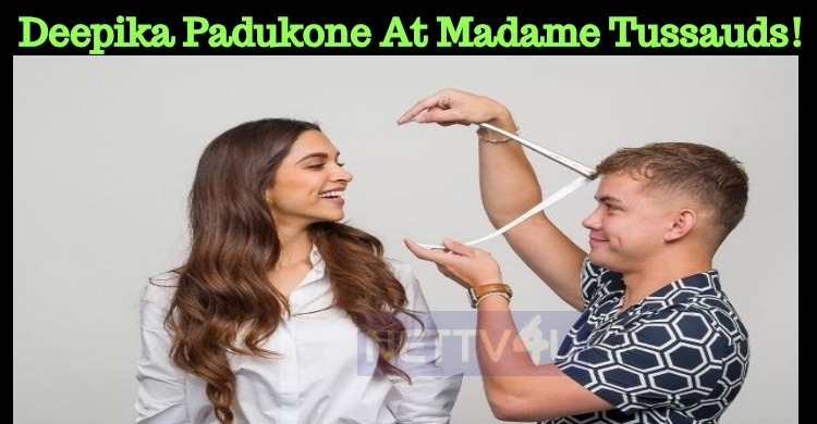 Deepika Padukone At Madame Tussauds!